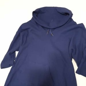 Blue Thermal Pullover